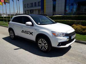 Mitsubishi ASX 2017 фейслифт