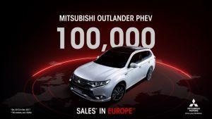 Mitsubishi Outlander PHEV  100 000 продажби